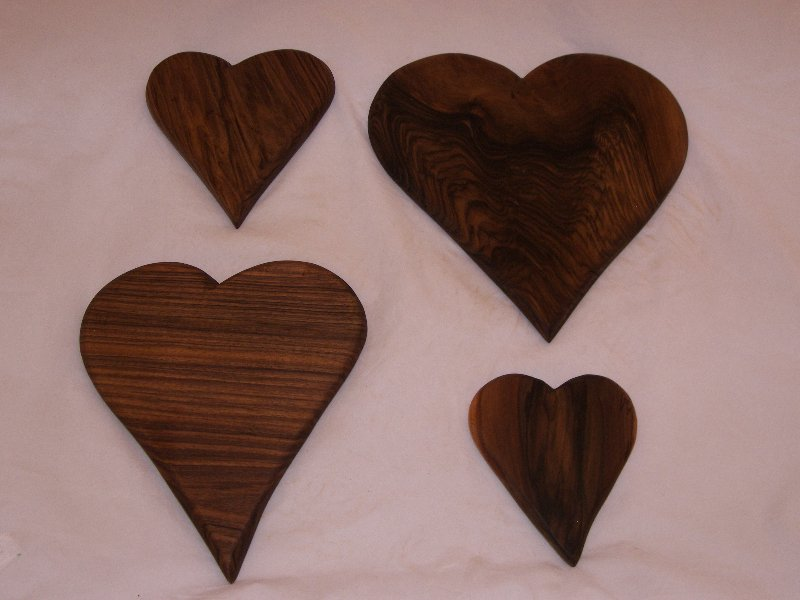 Four Walnut Boards
