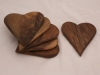 Walnut Heart Boards