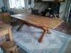 Burr Oak dinning table