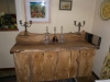 Solid Burr Oak Sideboard