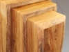 Natural Edge Elm Nest of Tables