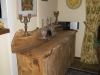 sideboard solid burr oak