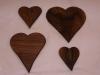 Four Walnut Boards