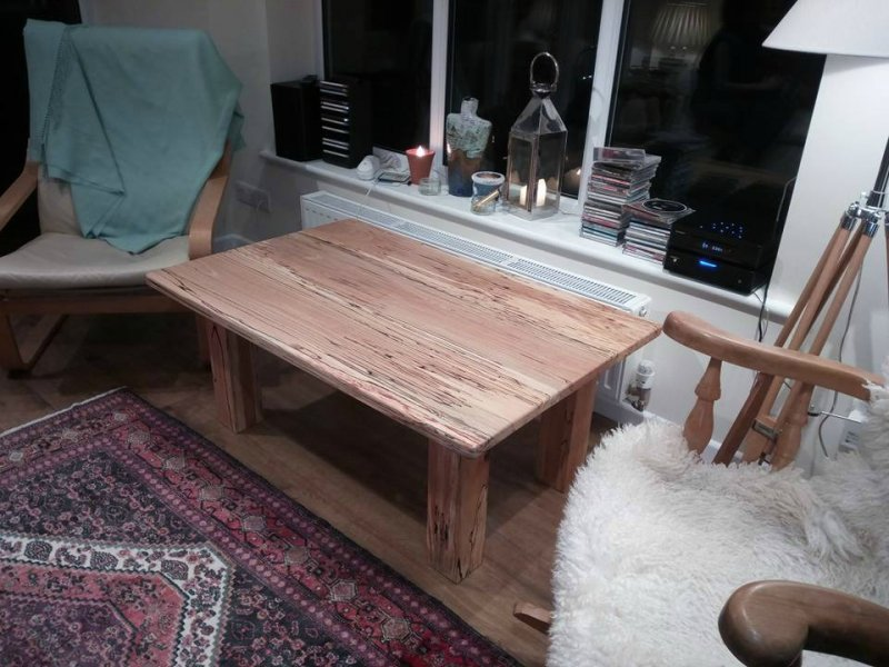Spalted Beech Coffee Table