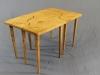 Burr Oak Jigsaw Table
